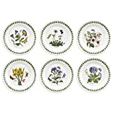 Comes in a Variety of Floral Motifs Made in England Dishwasher, Freezer, and Microwave Safe Set of 6 Assorted
