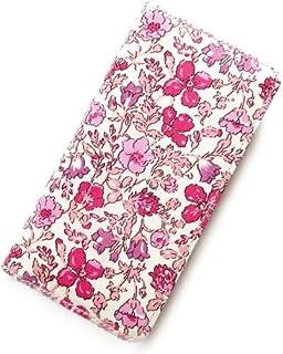 iPhone XS iPhone X ケース 手帳型 リバティ メドゥ (ピンク)ワントーンシリーズ )SHOKO MIYAMOTO おしゃれ かわいい マグネット無しでカード安全 スマホケース アイフォンケース Liberty…