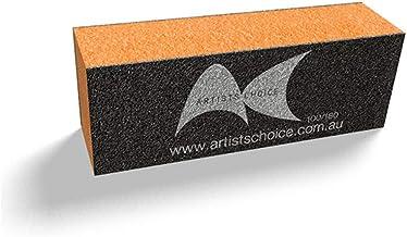 Artists Choice Orange Nail Sanding Block 100/180 Buffing Buff Manicure