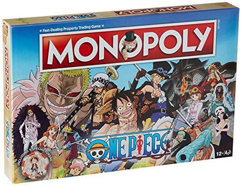 Monopoly- One Piece Juego de Mesa de una Pieza, Individual (036948)