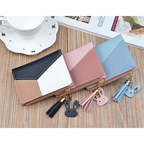 PALAY Small PU Leather Multi Wallets Credit Card Holder Coin Purse Zipper -Small Secure Card Case/Gift Wallets For Women Stylish