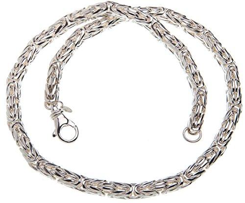 Königskette, rund 8mm - Länge 65cm, 925 Silber