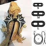 Pet Traction Rope Reptile SML Set Lizard Harness Pet Out Traction Hamster Pequeña Mascota Con Alas Cuerda De Tracción