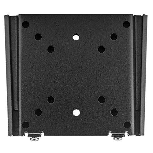 """deleyCON Universal TV & Monitor Wandhalterung - 13\"""" bis 27\"""" Zoll (33-68cm) - bis 30Kg - bis VESA 100x100mm - Wandabstand 15mm - TV Monitor Halterung"""