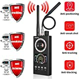 Upgraded Anti Spy Detector & Listening Device Finder RF Signal Detector GPS Bug Detector Hidden Camera Detector for GSM Tracking Device GPS Radar Radio Frequency Detector