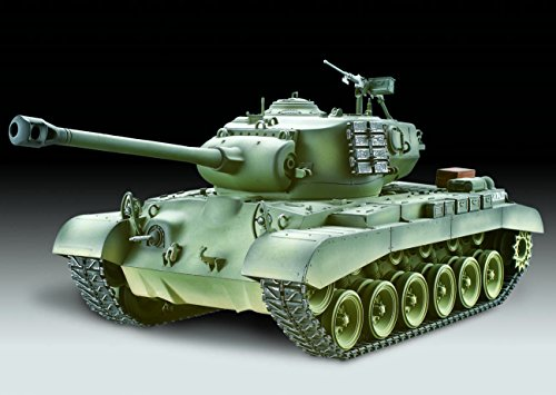 TORRO 3426 - Panzer M26 Pershing Snow Leopard Hobby-Edition 2.4 GHz Version Airbrush