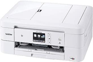 ブラザー A4インクジェット複合機 DCP-J982N-W (白モデル/ADF/有線・無線LAN/手差しトレイ/両面印刷/レーベル印刷)