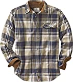 Legendary Whitetails Buck Camp Flannels Shale Plaid Medium