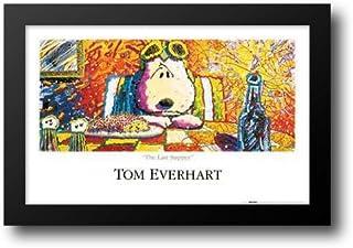 Last Supper 40x28 Framed Art Print by Everhart, Tom