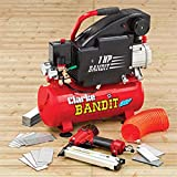Bandit IV 8 Litre Air Compressor With Air Gun Kit