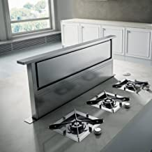 Elica ERS636 600 CFM 36 Inch Wide Downdraft Range Hood from the Rise Collection, Stainless Steel