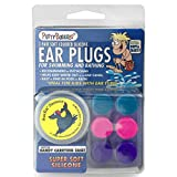 3-pair Pack of PUTTY BUDDIES Floating Formula Soft Silicone Ear Plugs for Swimming/
