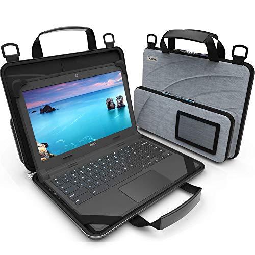 UZBL Laptoptasche für Chromebook, 27,9 - 29,5 cm (11 - 11,6 Zoll), mit Tasche und Schultergurt