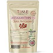 Astaxanthin - 7mg Optimal Dose - 120 Capsules - Super Antioxidant - Haematococcus Pluvialis - 100% Pure Natural Bioavailable 4 Month Supply - UK Manufactured - Zero Additives