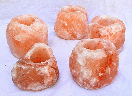 Lampade di sale dell'Himalaya con e senza regolatore