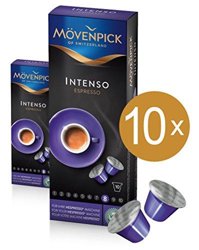 MÖVENPICK INTENSO ESPRESSO Kaffeekapseln 10 x 10 Kapseln