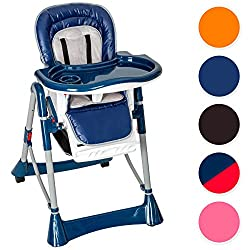 TecTake baby highchair, height adjustable, different colors