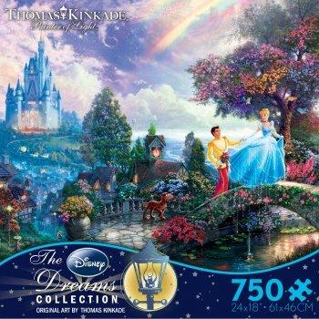 Disney Thomas Kinkade ディズニー シンデレラ ジグソーパズル 750ピース [並行輸入品]