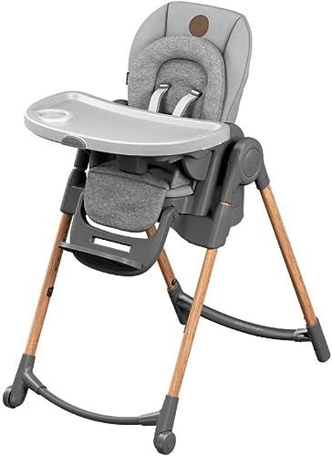 Bébé Confort Minla Chaise Haute bébé Évolutive, Réglable 6 positions, de la naissance à 6 ans (jusqu'à 30kg), Essenti...
