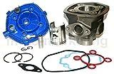 UNTIMERO 50 CC Cilindro Gruppo Termico PISTONE Testa Kit per Piaggio Nrg 50 Power LC