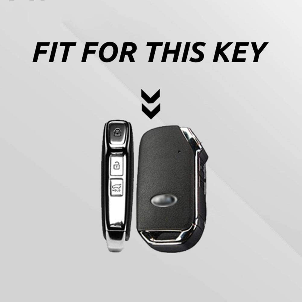 Amazon Com Zhhrhc Plating Tpu Car Remote Key Case Full Cover Fob Holder Shell For Kia Sportage Ceed Sorento R Gt Stinger Forte Cerato 2018 2019 Home Kitchen