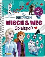 Disney Eiskoenigin: Wisch & Weg - Spielspass: Buch zum spielerischen Lernen mit abwischbaren Seiten und Stift (ab 4 Jahren)