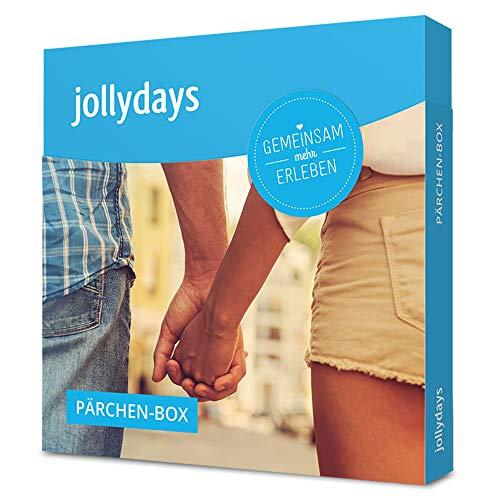Jollydays Pärchen-Box | Gutschein für 2 Personen für eines von über 250 Erlebnissen | Erlebnis-Geschenkbox
