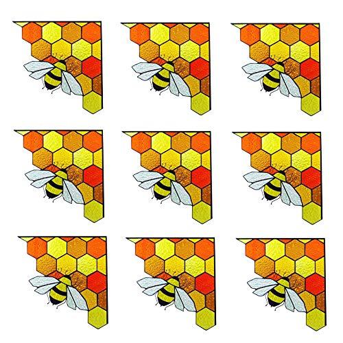 Bienenstock Aufkleber Fenster Aufkleber Dekoration Spring Bee Banner Aufkleber Garten Banner Bee Party liefert Bienenstock Aufkleber Klebefolie Tapeten selbstklebende Folie