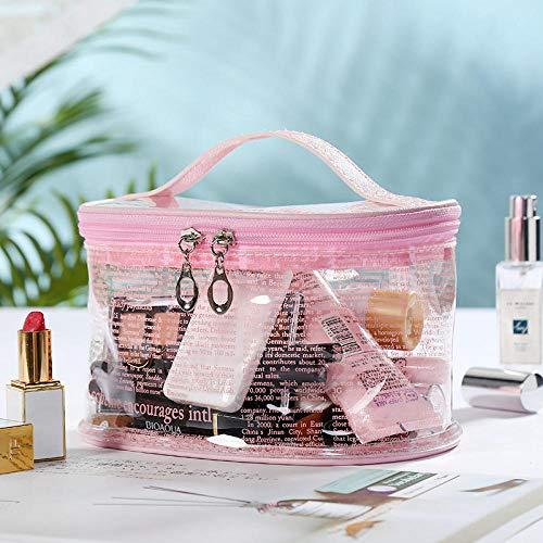 Cosmétique Sac Femmes Mode Transparent lettresTravel Trousse de Toilette Sac Maquillage Poche Organisateur Wash-5_20 * 15.5 * 11.5 CM