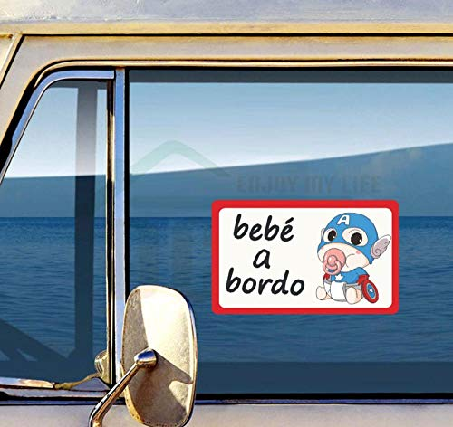 YUNZHIFU Volkswagen Skoda Honda Kia Hoge Kwaliteit Reflecterende Auto Sticker Cartoon Superhero Kinderwagen Vinyl Applique Decoratie