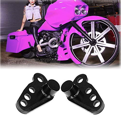 For 2002-2016 Harley Lowering Kit 1-3  Touring Custom 2014 Street Glide Accessories 2015 Road King Blocks 03 Ultra Classic Links Brackets 12 Ultra Limited Motorcycle Rear Shocks 05 Electra Glide