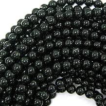 Green Goldstone Round Beads Gemstone 15