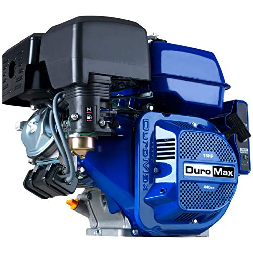 DuroMax XP18HPE 457cc Recoil/Electric Start Gas Powered 50 State Approved, Multi-Use Engine, XP18HPE, Blue