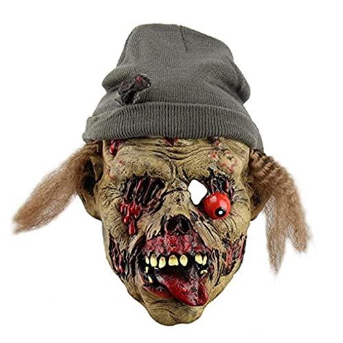 Máscara De Halloween Espeluznante, Demonio Malvado Cubierta Completo Cubierte Trasy Horror, Demonios Sonrientes Evil Cosplay Face Care Covering