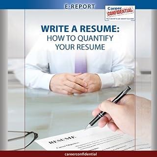 Write a Resume  cover art