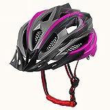 nohbi Casco Moto Modular Integral,Casco de equitación para Hombres y Mujeres, Casco de Bicicleta de montaña - Morado,Casco de Moto Motoclicleta