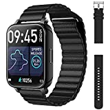 Smart Watch with Magnetic Band, OJBK Smart Watches for Android Phones & iPhones, Fitness Watch for Women Men with Blood Pressure, Sleep, Heart Rate Monitor, IP67 Waterproof Activity Tracker