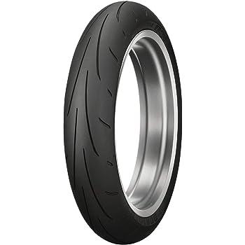 Dunlop Sportmax Q3+ Front Motorcycle Tire 120/70ZR-17 (58W) - Fits: Aprilia Caponord 1200 ABS 2014-2018