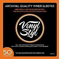 Vinyl Styl 高質インナーレコードスリーブ/Archive Quality Inner Record Sleeve