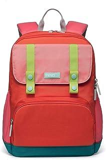 Zaino leggero per scuola elementare con bookbag a strisce riflettenti ideale per il livello 1-6