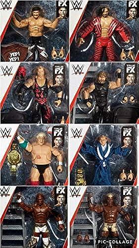 Tout 8 Complet WWE Elite Figurine Lutte Séries Mattel 63