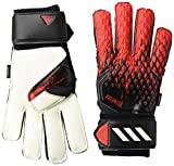 adidas Adult Predator 20 MTC Fingersave Gloves, Black/Active Red,...