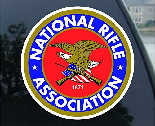 NRA Guns and Rifles Sticker Decal