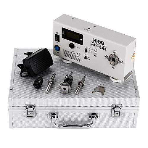 Buoqua HP-100 Digitales Drehmomentmessgerät Wrench Messen Tester Screw driver +-0.005 Digital Torque Meter Präzision Tragbare LCD digital Torque Meter (HP-100)