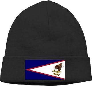 Gorra de béisbol para hombre y mujer, diseño de bandera de Samoa Americana, color negro