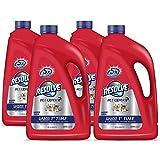 Resolve Pet Steam Carpet Cleaner Solution Shampoo, 240oz (4 Bottles x 60 oz), Safe for Bissell, Hoover & Rug Doctor