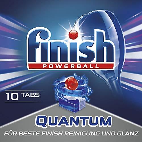 Finish Quantum, Spülmaschinentabs, Smartpack Probiergröße 10 Tabs