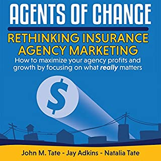 Agents of Change audiobook cover art