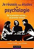 Je réussis mes études de psychologie