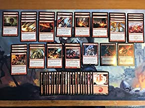 Mono Red Land Destruction Deck - Modern Legal - Custom Built - Magic The Gathering - MTG - 60 Card